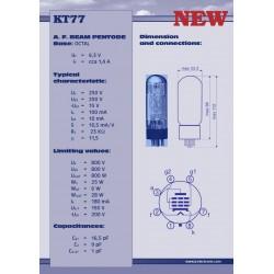 KT77 Powertube   JJ Electronic