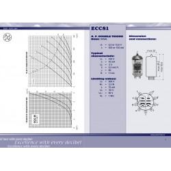 ECC81 - 12AT7 voorversterker lamp | JJ Electronic