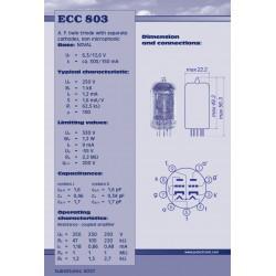 ECC803 S voorversterker lamp | JJ Electronic