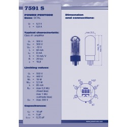 7591 S Power tube