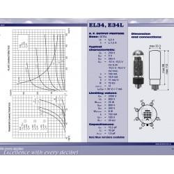 EL34 power tube | JJ Electronic