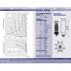 EL34 power tube | JJ Electronic
