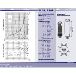 E34L power tube | JJ Electronic