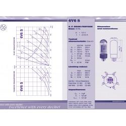 6V6 S power tube | JJ Electronic