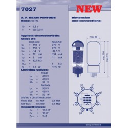 7027 Power tube | JJ Electronic