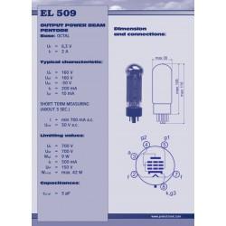 EL509 Power tube   JJ electronic