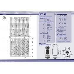 KT 88 - 6550 Power tube | JJ Electronic