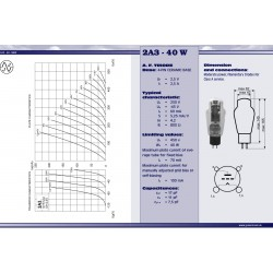2A3 – 40W Power tube | JJ Electronic