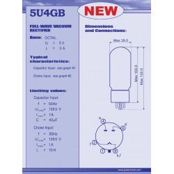 5U4GB gelijkrichter buis | JJ Electronic