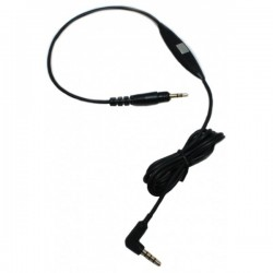 1.2m black cable with microphone and remote (Performance & Signature) | Ultrasone