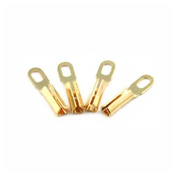 Gold plate terminal pins for cartridges | Tonar