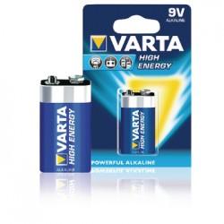 9V Alkaline batterij | Varta