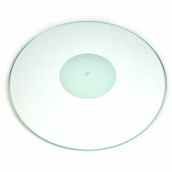 Crystal turntable mat | Tonar