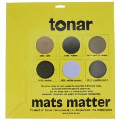 Pure Cork turntable mat | Tonar