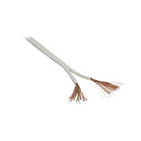 Speaker cable on reel 2x 2.50 mm² 100 m White   Valueline
