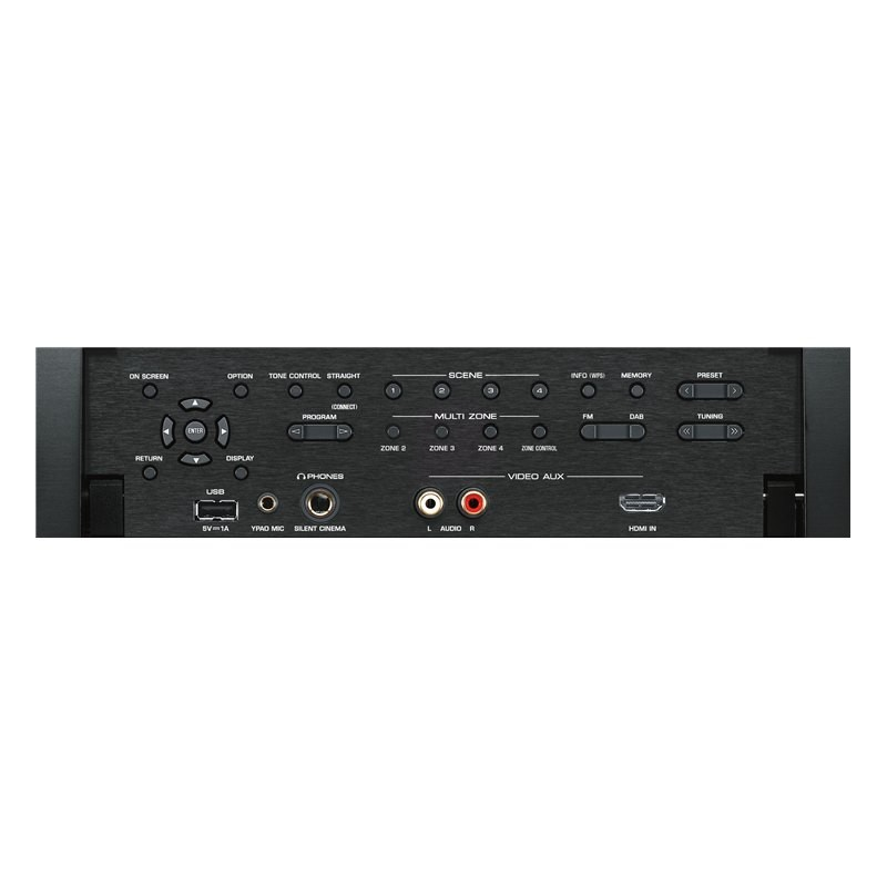 yamaha 9 2 kanaals aventage rx a2070 av surround receiver. Black Bedroom Furniture Sets. Home Design Ideas
