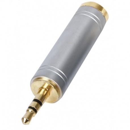 3.5mm plug - 6.35mm jack adapter