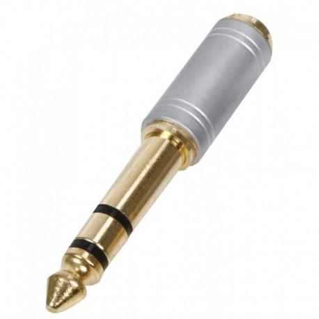 6.35mm plug - 3.5mm jack adapter